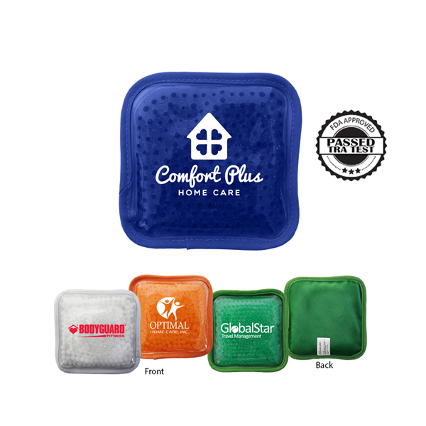 Plush Square Gel Bead Hot/Cold Pack