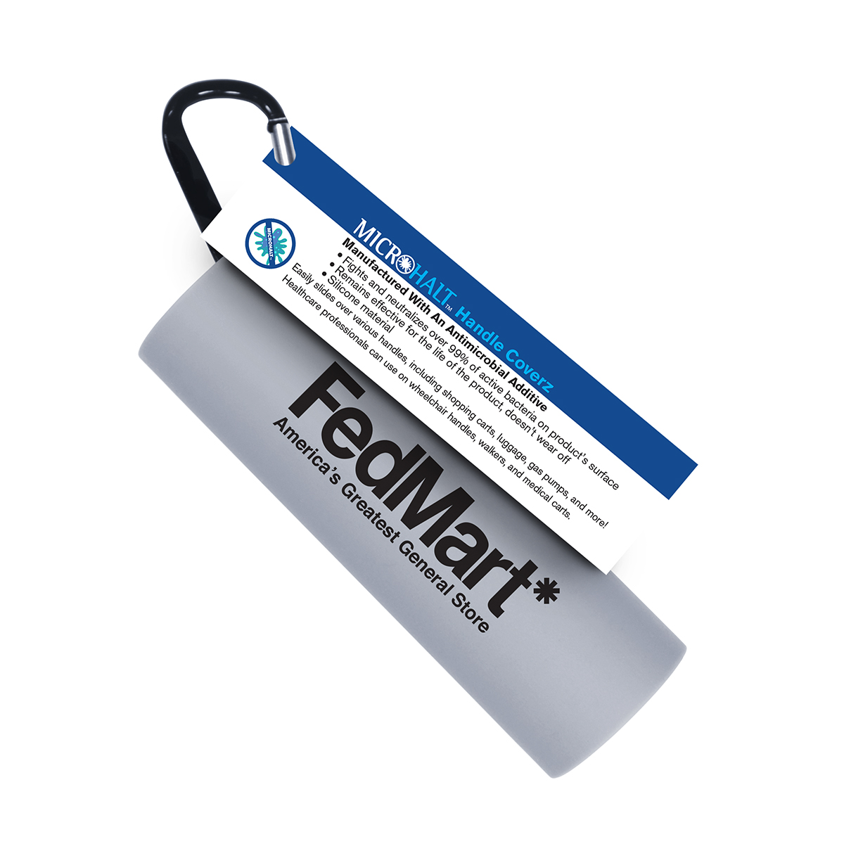 Microhalt Handle Coverz with Info Card - 1 Pack