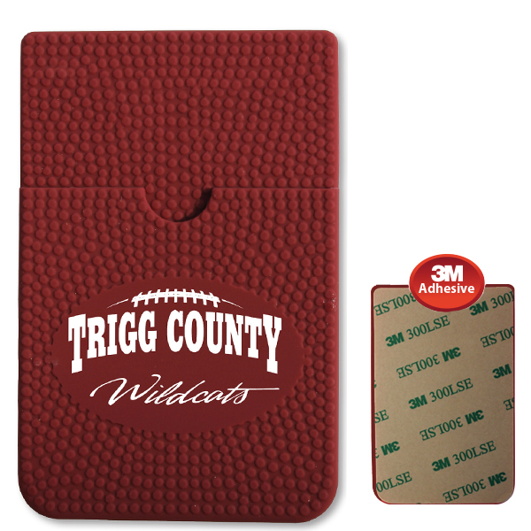 Textured Sport Phone Wallet - Football- Closeout