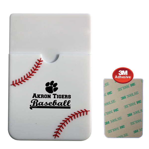 Textured Sport Phone Wallet - Baseball- Closeout