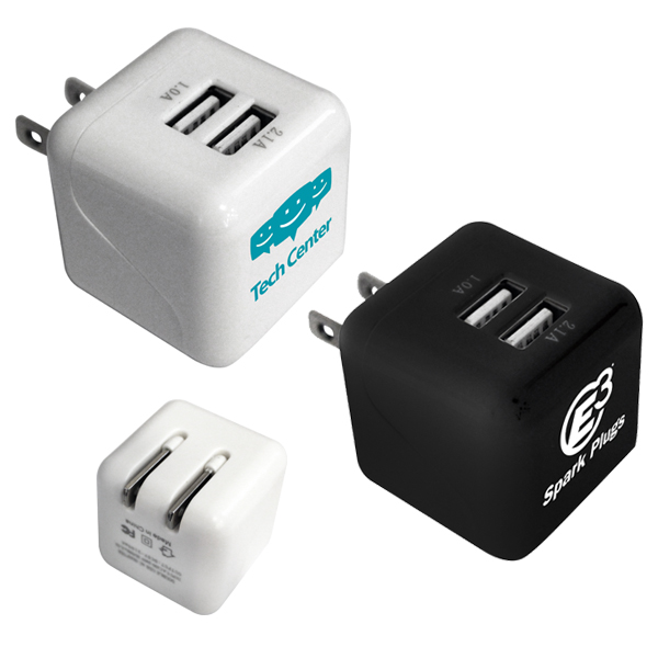 Double Port Wall Charger- Closeout