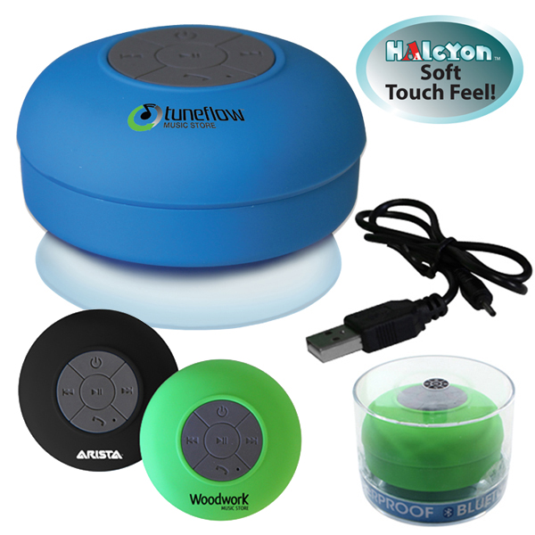 Halcyon® Waterproof Bluetooth® Speaker