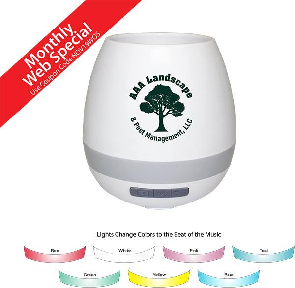 Musical Planter & Wireless Speaker
