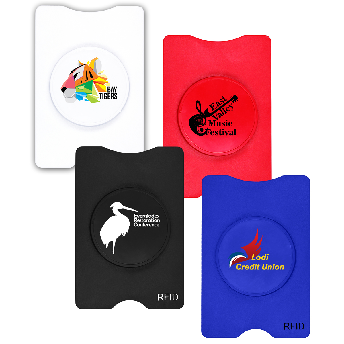 RFID Stand-Out Phone/Card Holder