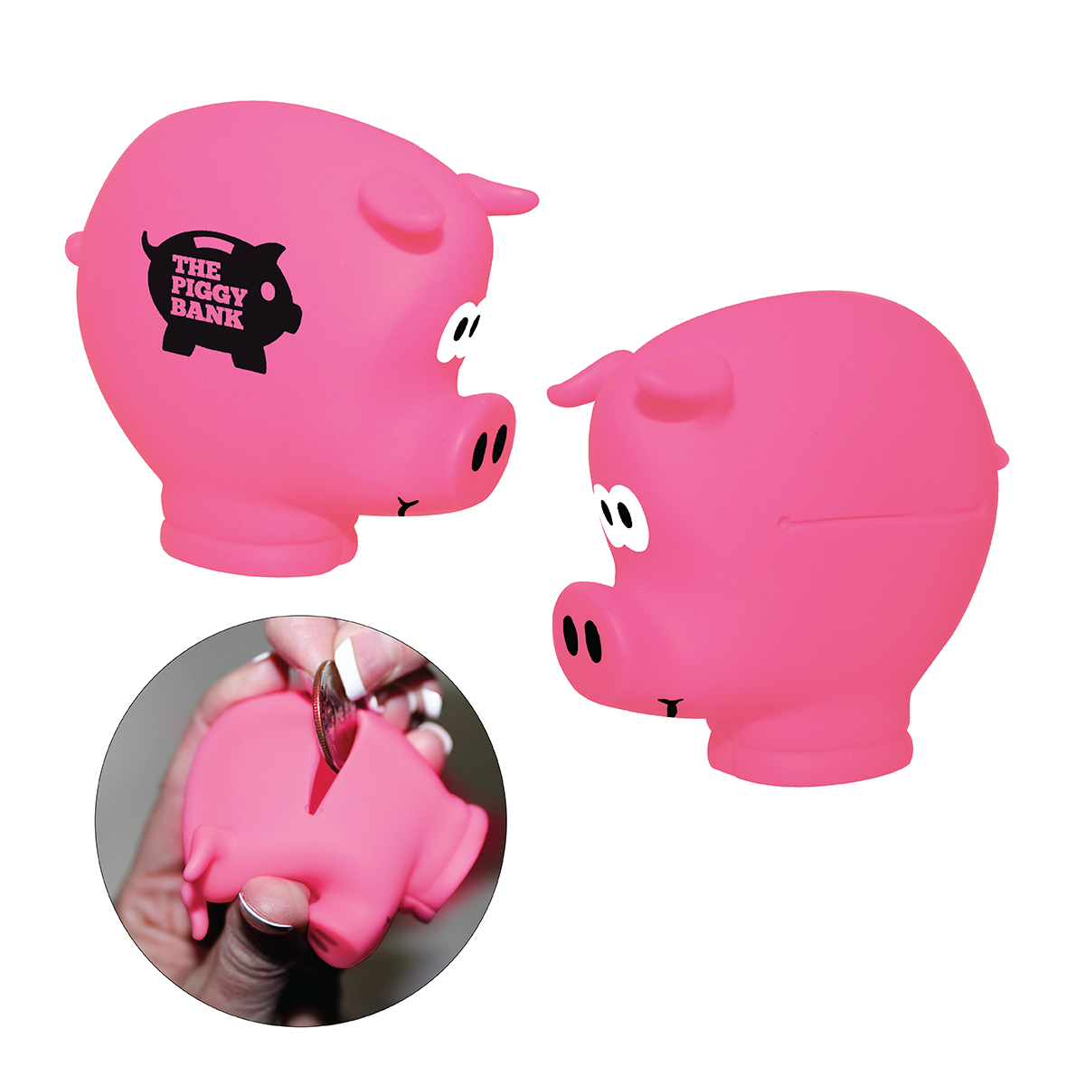 Pocket Piggy Coin Holder - CLOSEOUT