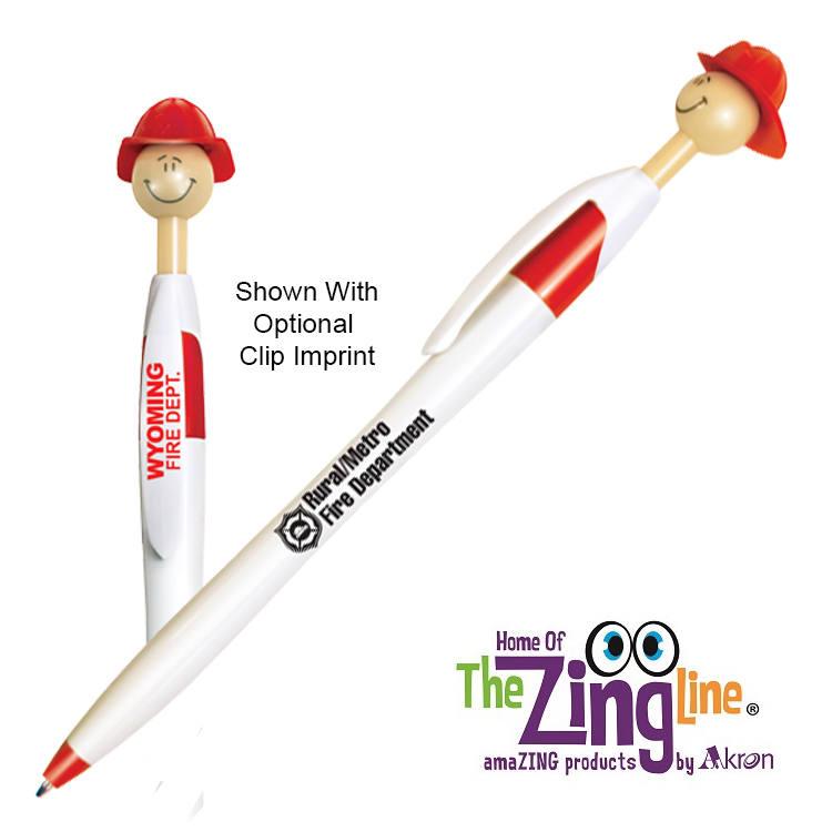 Fire Chief Smilez Pen - Light Tone