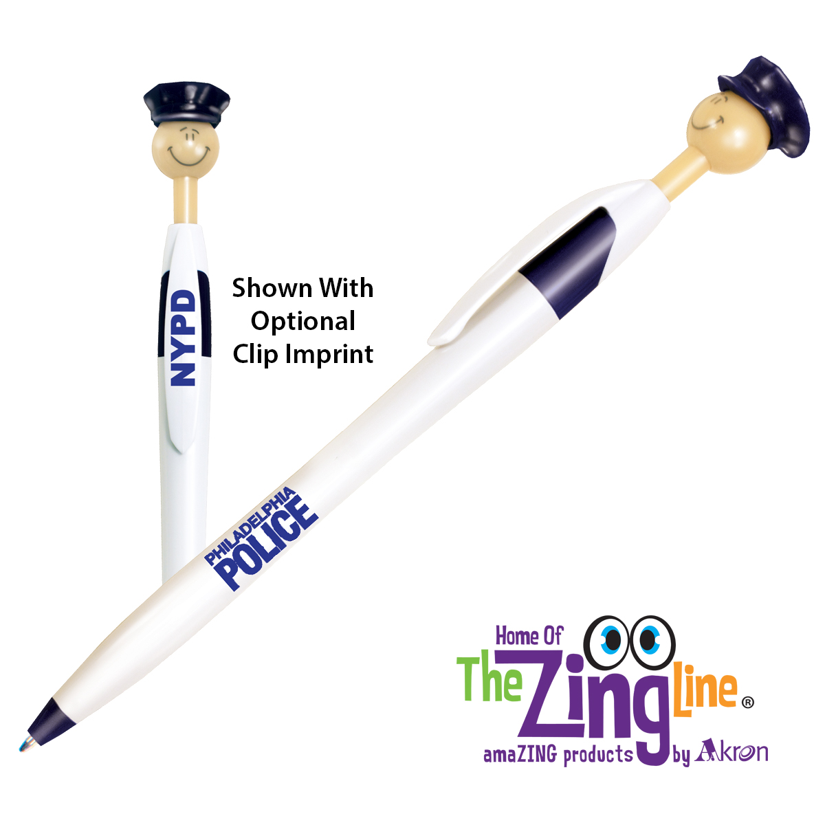 Officer Smilez Pen - Light Tone
