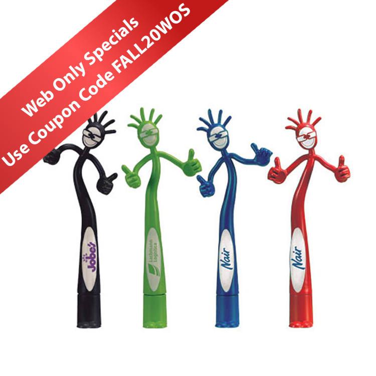 Thumbs-Up Bend-A-Pen