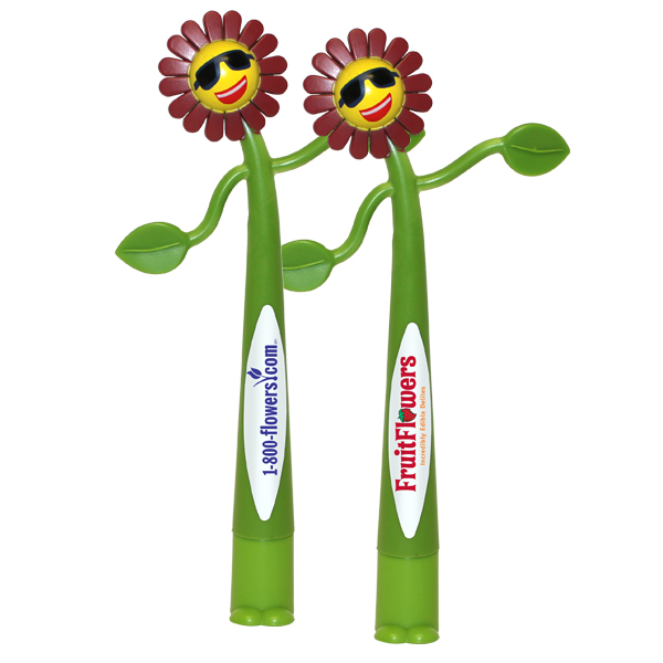Flower Bend-A-Pen