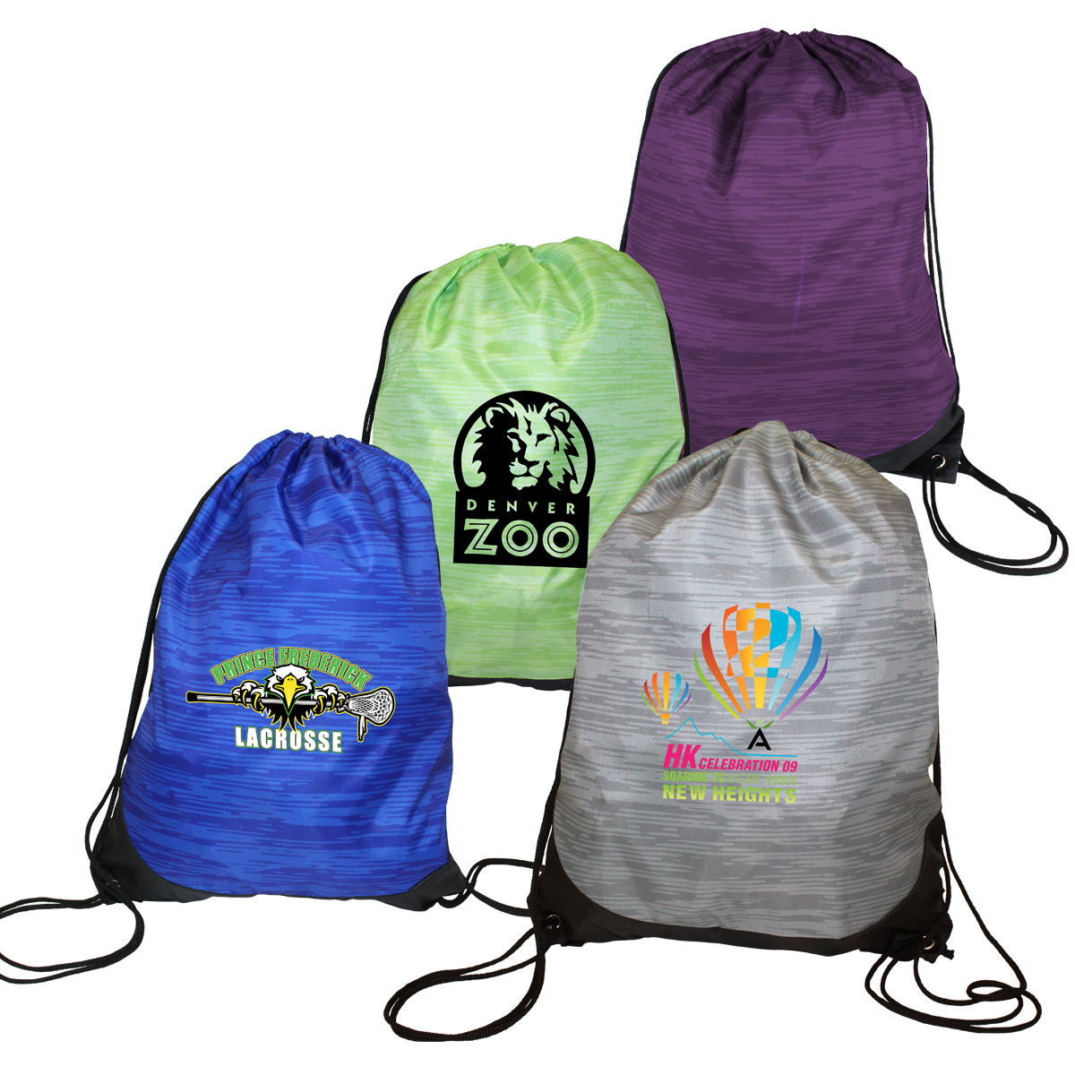 Reflections Drawstring Backpack