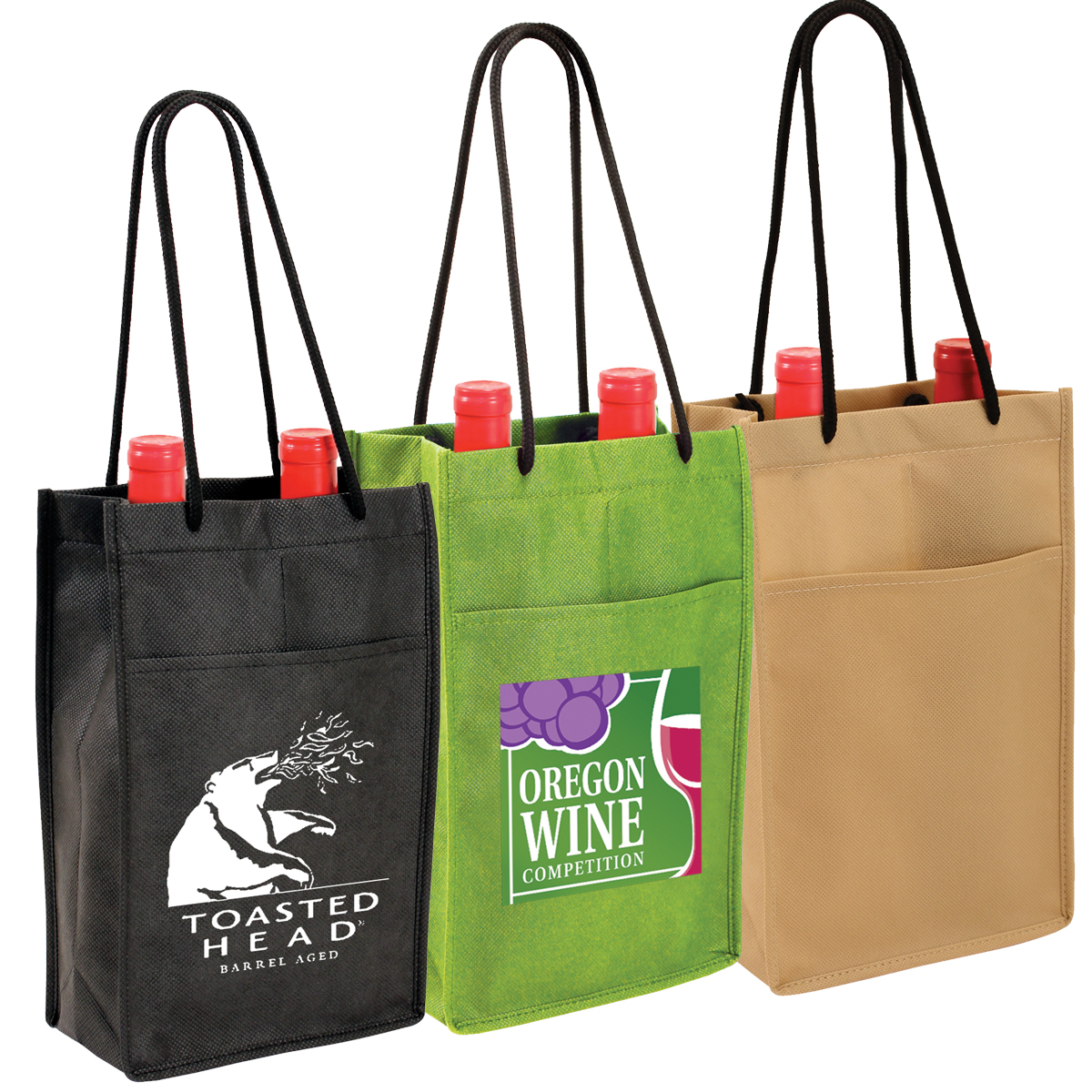 NW Double Bottle Wine Bag