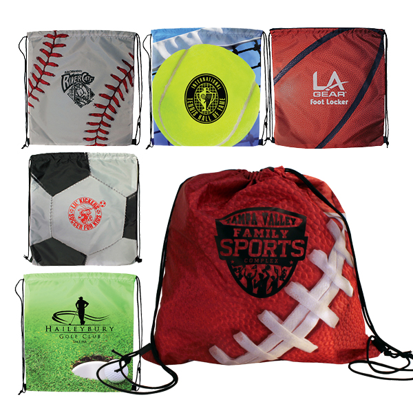 Sports Style Drawstring Backpack