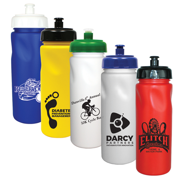 24 Oz. Cycle Bottle with Push 'n Pull Cap