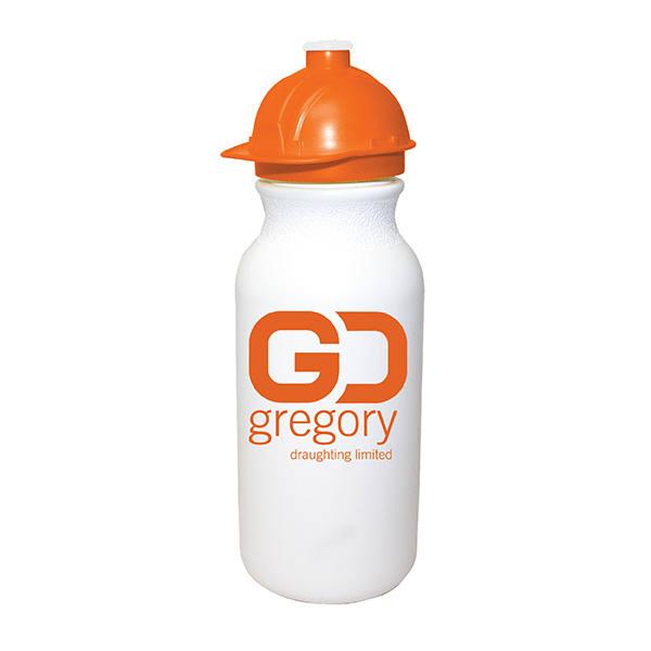 20 oz. Value Cycle Bottle w/ Safety Helmet Push 'n Pull Cap
