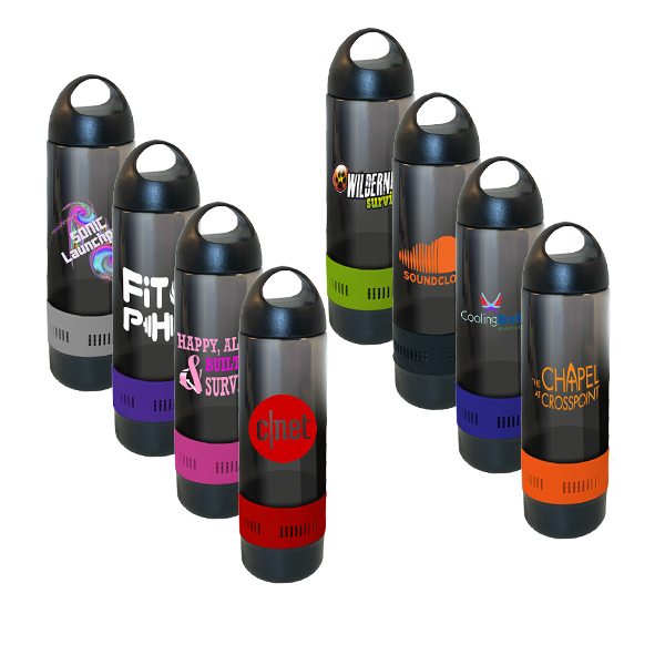 17 oz. Bluetooth® Speaker Sport Bottle