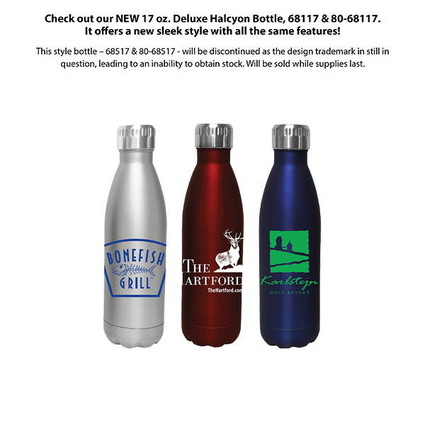 17 oz. Halcyon® Bottle