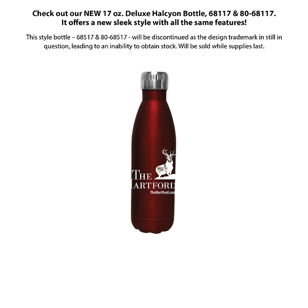 17 oz. Halcyon® Bottle- Closeout