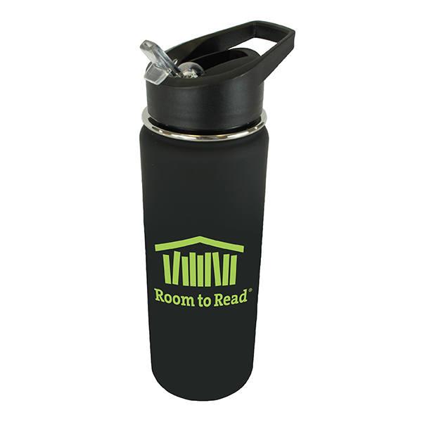 20 oz. Halcyon® Sports Bottle with Flip Straw Lid