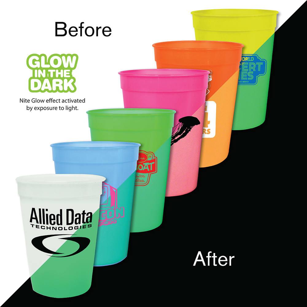 12 oz. Nite Glow Stadium Cup