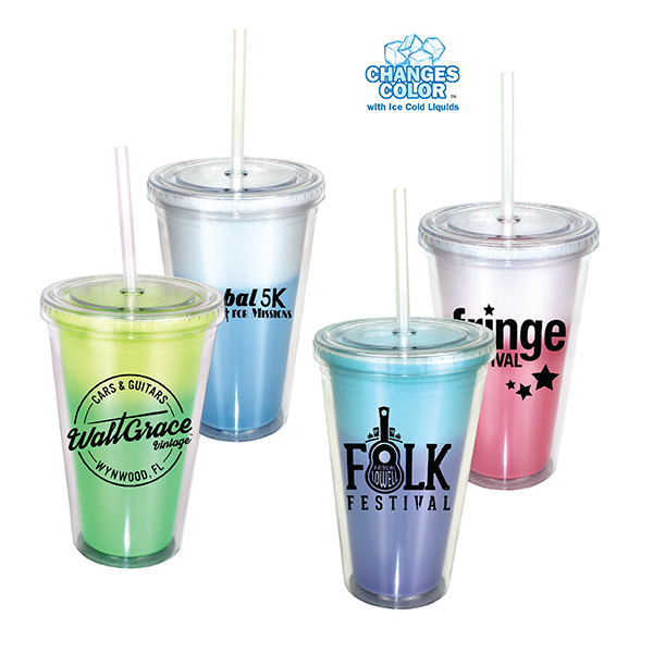 16 oz. Mood Victory Acrylic Tumbler with Straw Lid