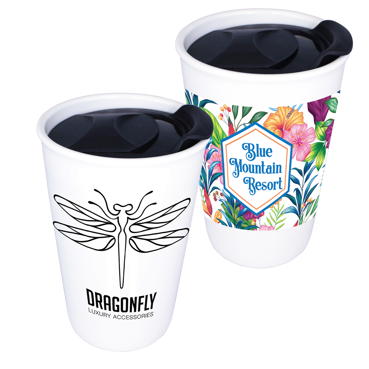 11 oz. Double Wall Ceramic Tumbler