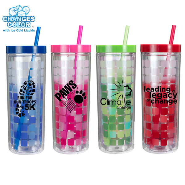 16 oz. Mood Cube Tumbler- Closeout