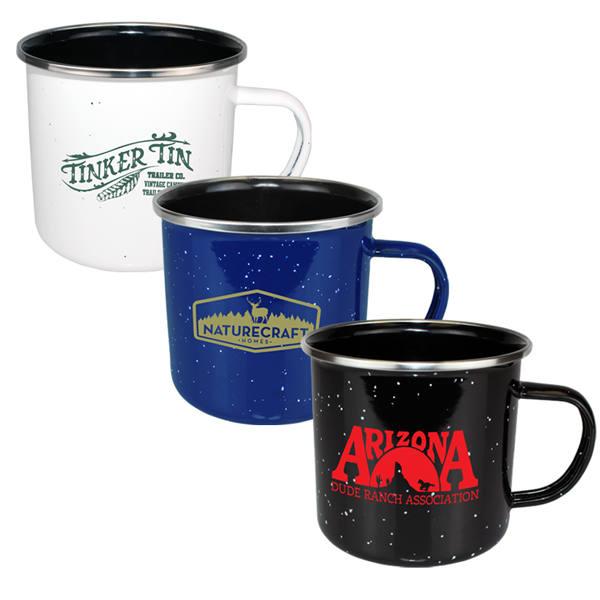 15 oz. Speckled Enamelware Mug