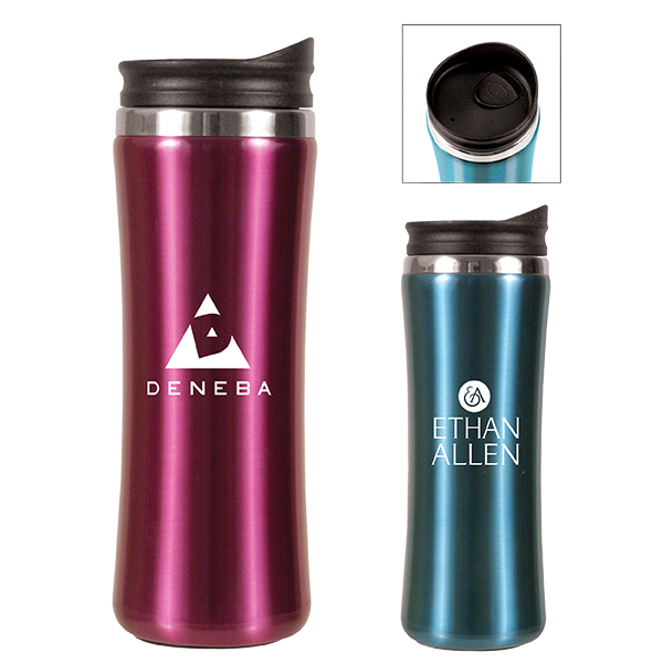 14 oz. Laguna Stainless Steel Tumbler- Closeout