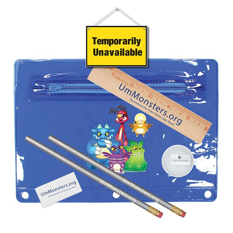 Premium Transparent School Kits, Full Color Digital