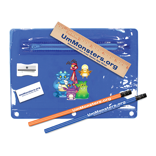 Premium Transparent School Kits, Full Color Digital