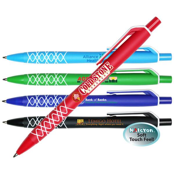 Halcyon® Design Click Pen, Full Color Digital