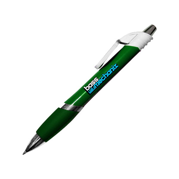 Marquee Circle Clip Pen, Full Color Digital- Closeout