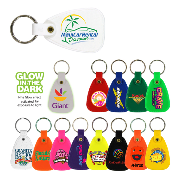 Saddle Key Tag, Full Color Digital