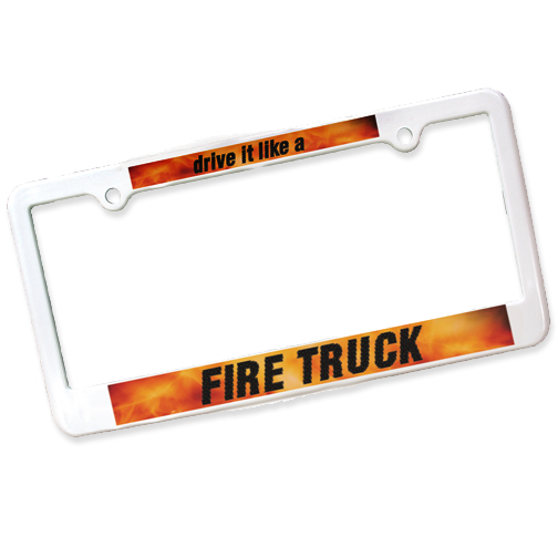 License Plate Frame-2 Holes,Full Color Digital