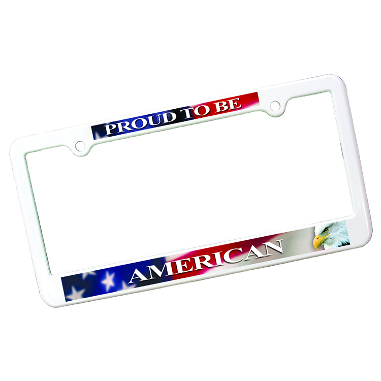 License Plate Frame-4Holes,Full Color Digital