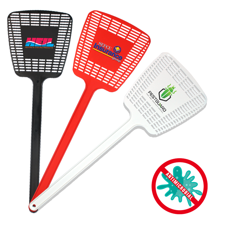 Antimicrobial Mega Fly Swatter, Full Color Digital