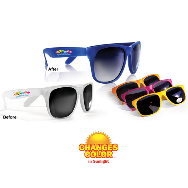 Sun Fun Sunglasses, Full Color Digital