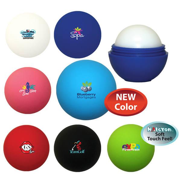 Halcyon® Round Lip Balm, Full Color Digital