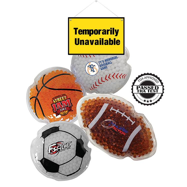 Sport Gel Bead Hot/Cold Pack, Full Color Digital