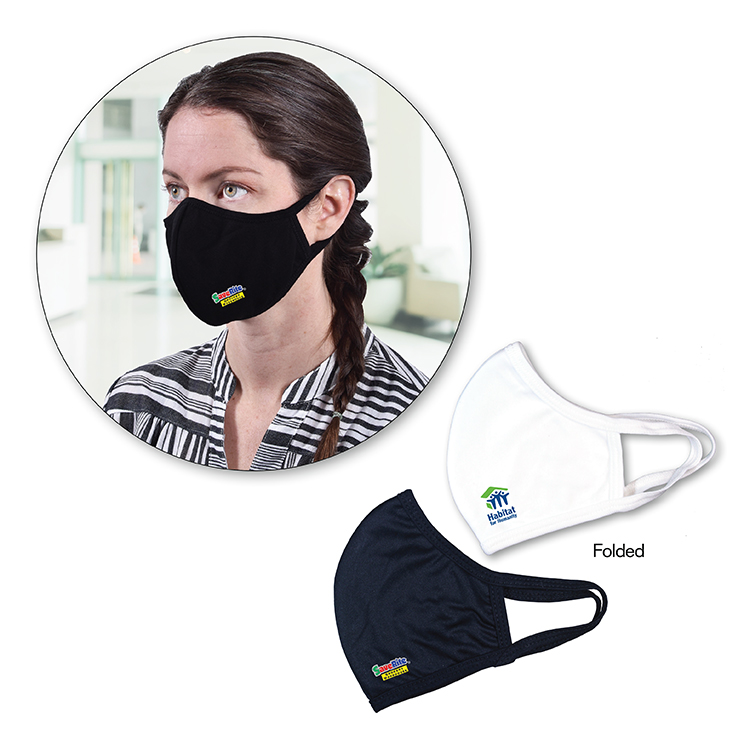 Double Layer Face Mask, Full Color Digital