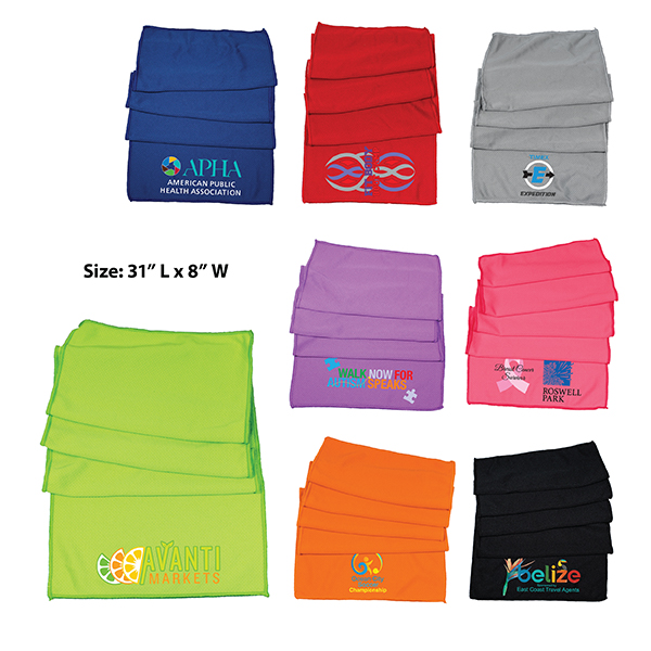 Cooling Towel, Full Color Digital