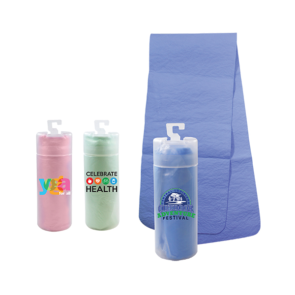 PVA Cooling Towel in a Tube, Full Color Digital