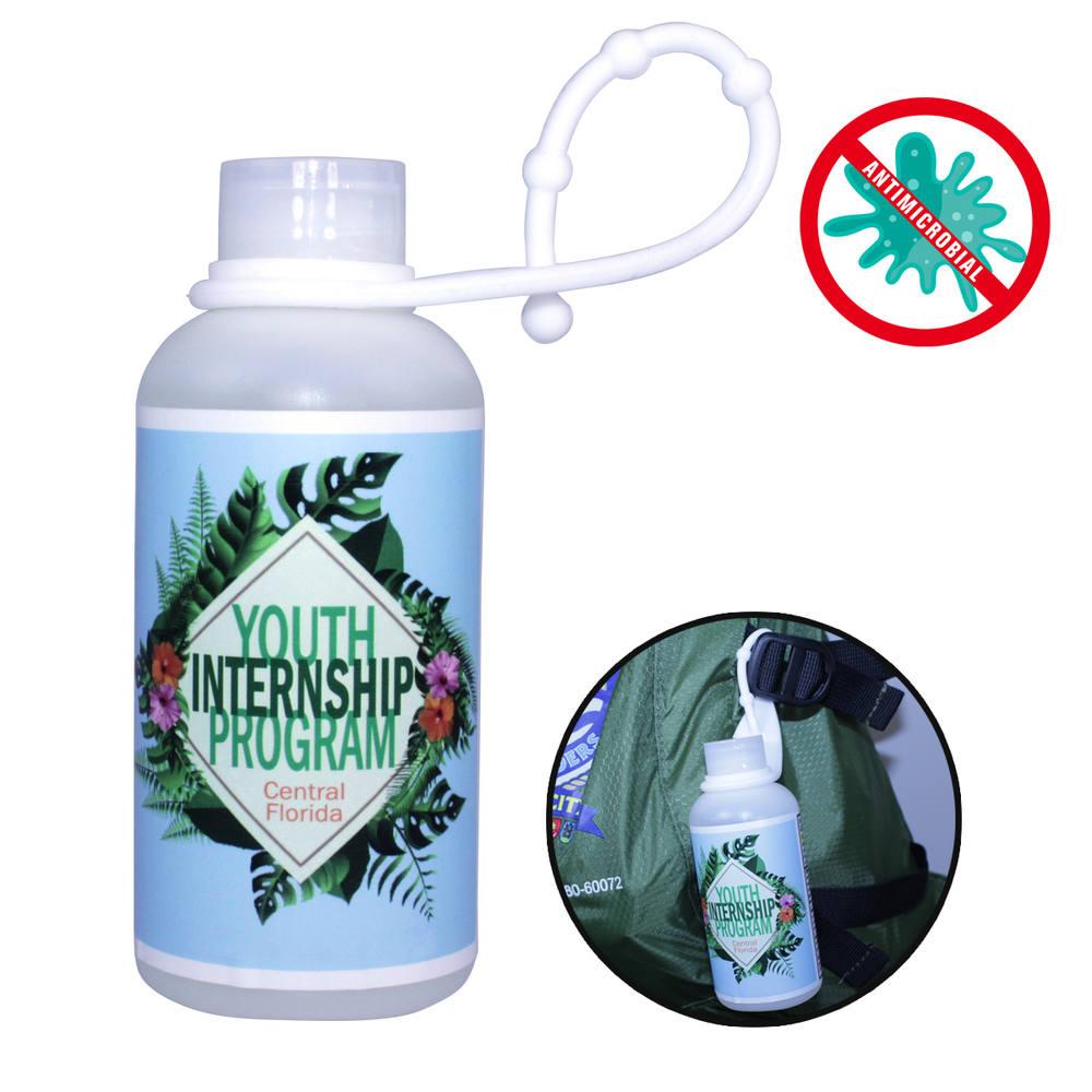 3 oz. Gel Sanitizer with Lanyard , Full Color Digital