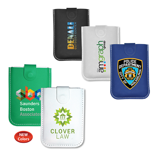 RFID Pull-Out Card Holder, Full Color Digital