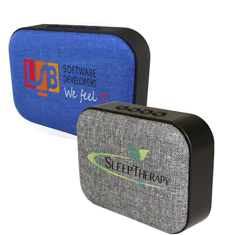 Fabric Wireless Speaker/Radio, Full Color Digital