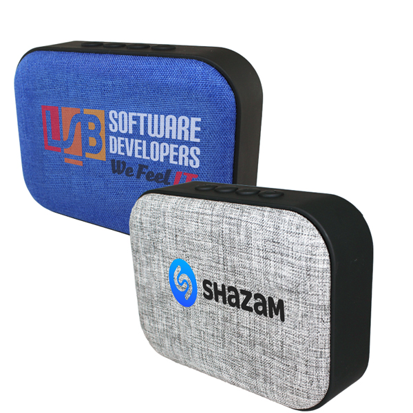 Fabric Wireless Speaker/Radio, Full Color Digital