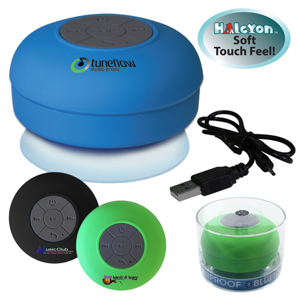 Halcyon® Waterproof Bluetooth® Speaker, Full Color Digital