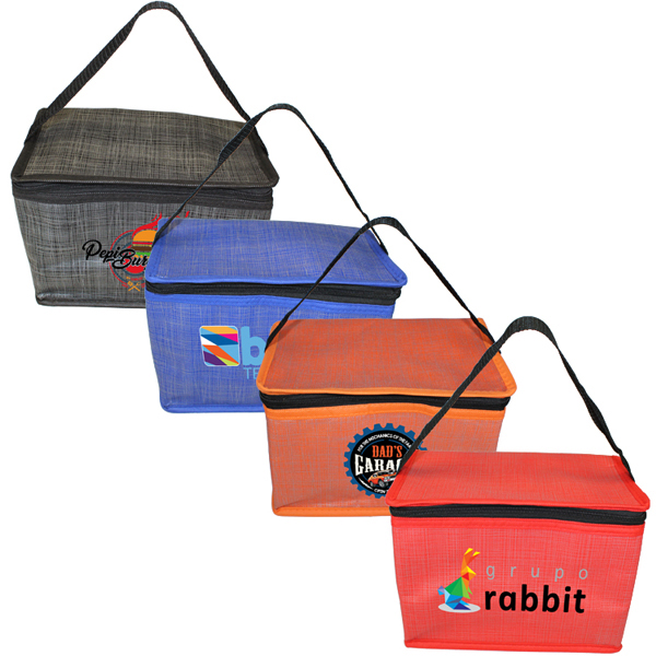 Criss Cross Lunch Bag, Full Color Digital