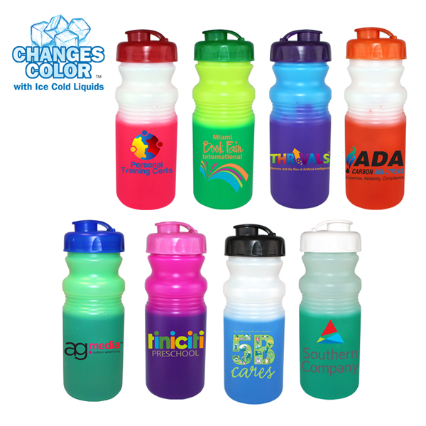 20 oz. Mood Cycle Bottle with Flip Top Cap, Full Color Digital Direct