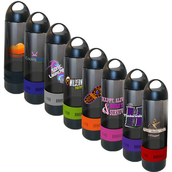 17 oz. Bluetooth™ Speaker Sport Bottle, Full Color Digital